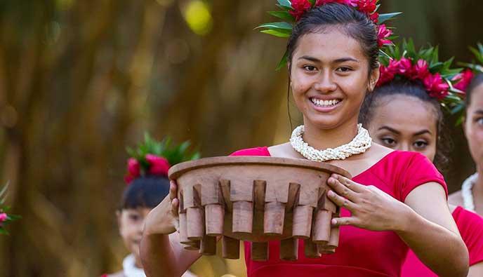 Explore American Samoa - cultural show